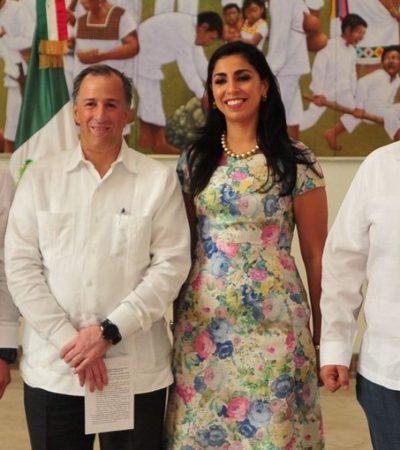 Presentan a Marybel Villegas como nueva delegada de Sedesol en Quintana Roo tras la salida del impresentable Fabián Vallado