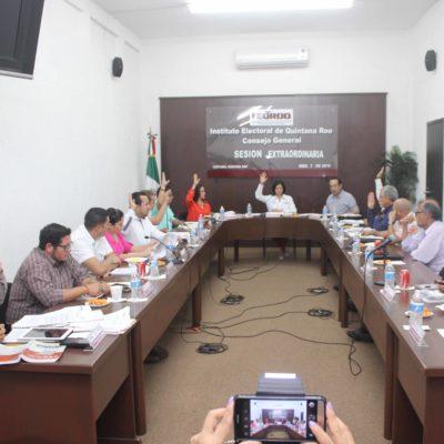 RECORTAN GASTOS DE CAMPAÑA: Fija Ieqroo nuevo tope para gubernatura en $4.4 millones, para alcaldías en $404 mil y en $296 mil para diputaciones