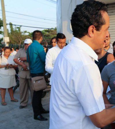 Con la alternancia, más y mejores oportunidades para las mujeres, asegura Carlos Joaquín; ofrecerá créditos a la palabra
