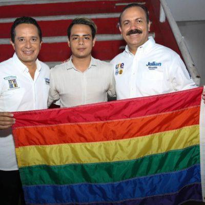 Garantiza Julián Ricalde políticas de respeto a la diversidad sexual en Cancún