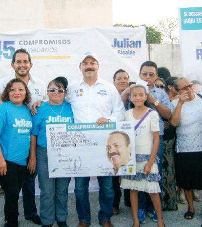 Anticipa Julián Ricalde proyecto para iluminar Cancún con leds sin generar deuda y para combatir inseguridad