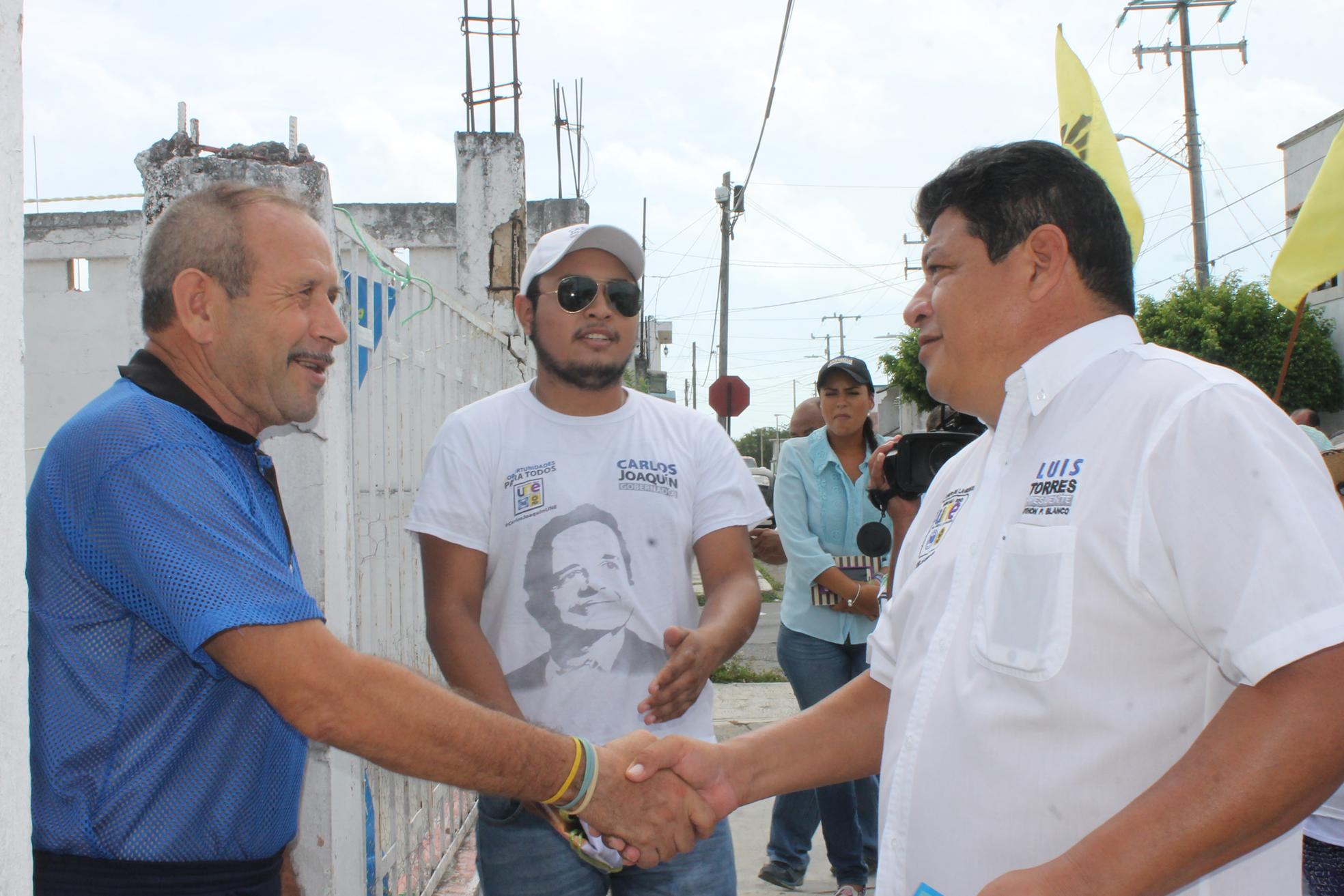 CHETUMAL LA PALANCA DE DESARROLLO PARA EL SUR: Dice Luis Torres que hay que potencializar el recurso de cada región para llevar progreso