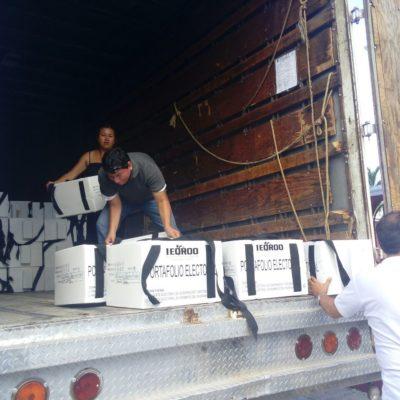 Concluye Ieqroo entrega de mil 917 paquetes electorales en Benito Juárez, Puerto Morelos e Isla Mujeres