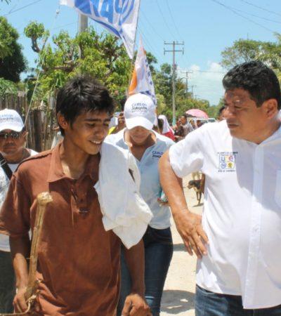 Afirma Luis Torres que se dará atención a equipamiento e infraestructura urbana para que Chetumal sea una capital digna
