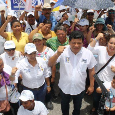 Pide Luis Torres votar por el cambio para rescatar al sur de Quintana Roo del abandono