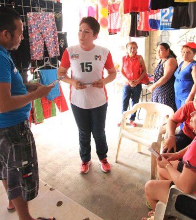 """Como diputada volveré a recorrer las colonias y comunidades"": Remedios Pantoja"