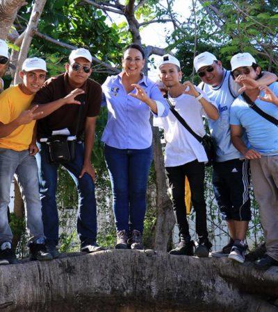 Legislaremos para evitar la deserción escolar: Graciela Saldaña