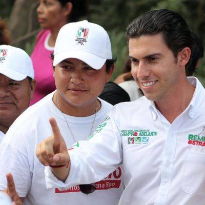 Rompeolas: 'Marca' el PVEM a Cancún como su territorio en QR