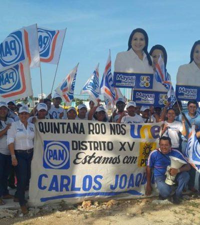 "Lucharemos por un Quintana Roo ""parejo para todos"", dice Mayuli Martínez"