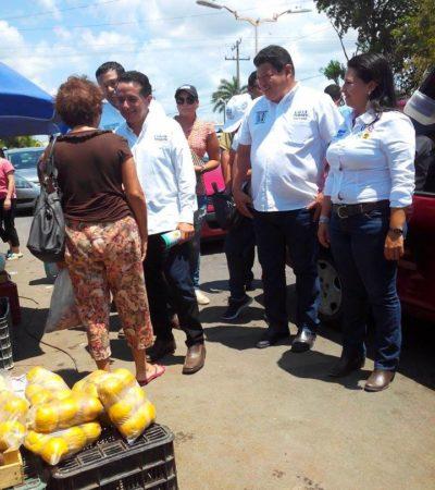 INMINENTE EL CAMBIO EN QR: Carlos Joaquín y Luis Torres hacen proselitismo juntos en Chetumal para que haya alternancia