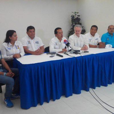"""Exige Carlos Joaquín piso parejo para el sur """"porque estamos cansados de los abusos de este gobierno corrupto"""""""