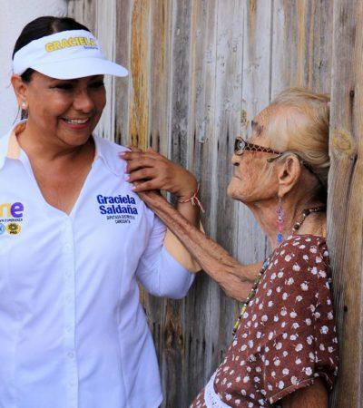 """""""Quintana Roo merece y requiere hacer valer los derechos humanos"""": Graciela Saldaña"""