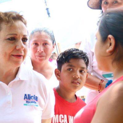 Garantiza Alicia Ricalde instalar internet gratuito en 17 espacios públicos de Isla Mujeres