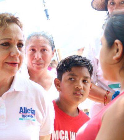 NO MÁS BASURA EN ISLA MUJERES: Alicia Ricalde asegura que renovará camiones y eficientarán servicio de limpia