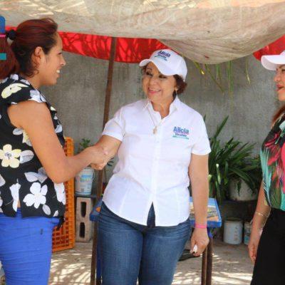"""""""Rehabilitaré la obra pública en el abandono"""", asegura Alicia Ricalde"""