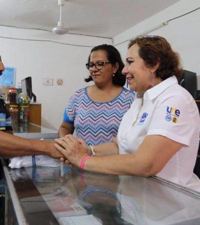"""""""Pondré en marcha plan de vivienda"""", asegura Alicia Ricalde"""
