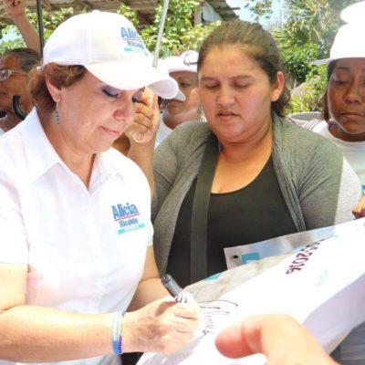 Alicia Ricalde comprometió parques infantiles en todas las colonias de Ciudad Mujeres