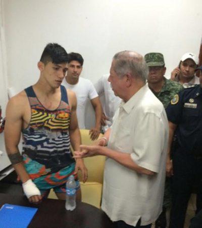 RESCATAN AL FUTBOLISTAS ALAN PULIDO: Tras varias horas secuestrado en Tamaulipas, confirman que se encuentra sano y salvo