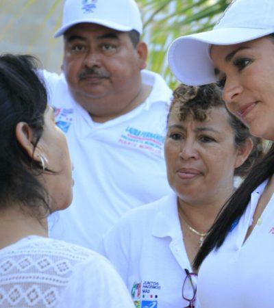 Asegura Laura Fernández que fluirá la inversión en Puerto Morelos para crear obras y dar servicios de calidad