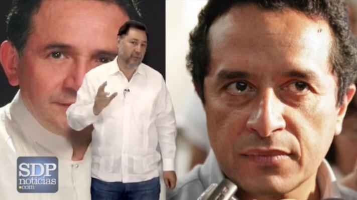 Pide Fernández Noroña a Carlos Joaquín y a Pech Várguez frente común para asegurar la derrota del PRI en QR