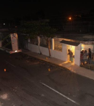 Disparan contra vivienda en la Sm 90 de Cancún; no hubo heridos