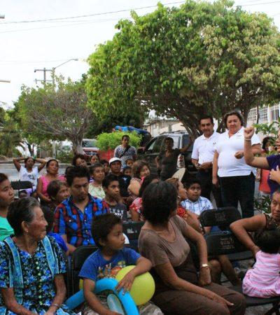 Hija de Mario Villanueva busca el voto en el Distrito XV
