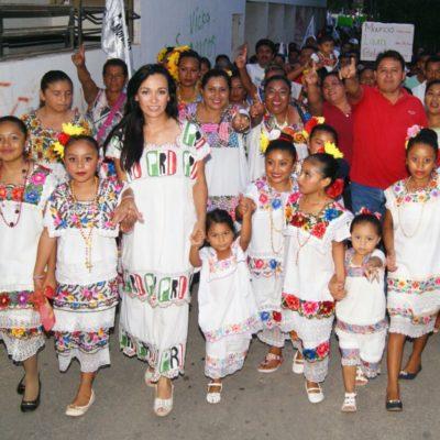 """Será Puerto Morelos """"tierra de buenas oportunidades"""", afirma Laura Fernández"""