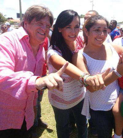 Deportistas de Puerto Morelos dan su apoyo a Laura Fernández para ser su próxima presidenta muncipal