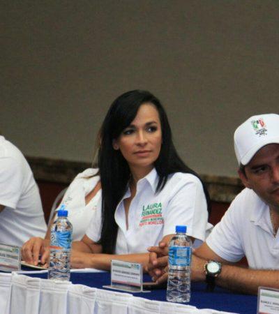 "Anticipa Laura Fernández que rechazarán a Aguakán en Puerto Morelos; presenta ""visión de un gobierno responsable"""