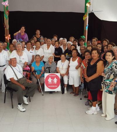 Impulsará Graciela Saldaña acciones de atención a adultos mayores