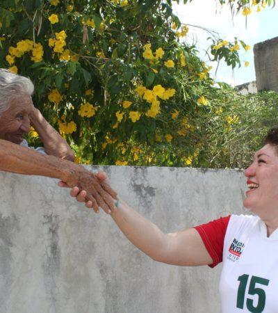 Dice candidata priista que tienen el apoyo de la gente para ganar… en Chetumal