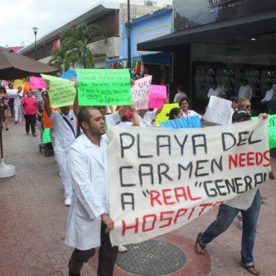 'AJUSTE DE CUENTAS' EN EL HOSPITAL GENERAL DE PLAYA: Despiden al médico Villalvazo que encabezó las protestas por sueldos atrasados y basificación