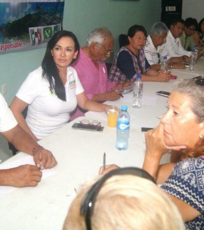 Confían hoteleros y prestadores de servicios turísticos que con Laura Fernández despunte Puerto Morelos