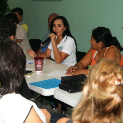 Dice Laura Fernández que hará de Puerto Morelos el municipio más limpio con la creación de la Dirección del Manejo Integral de los Residuos Sólidos