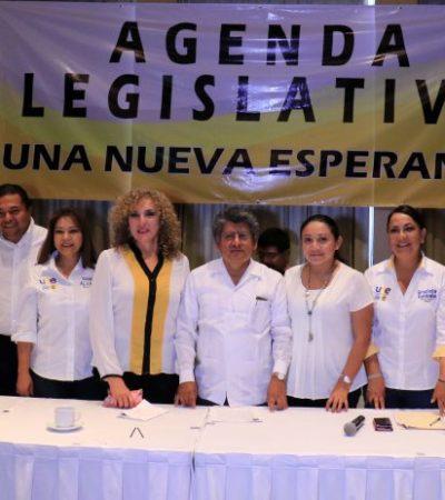 IMPULSAN AGENDA LEGISLATIVA PARA EL CAMBIO: Denuncian a Borge por corrupción, ineficacia y opacidad