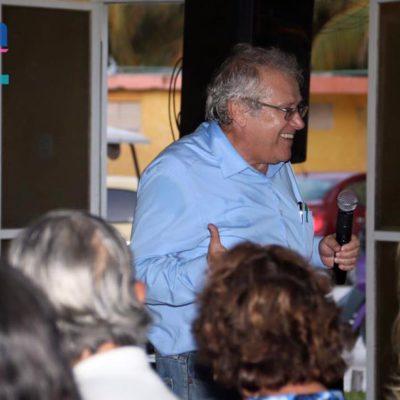 "Juan José Rodríguez Prats imparte conferencia ""Líderes Comunitarios"""
