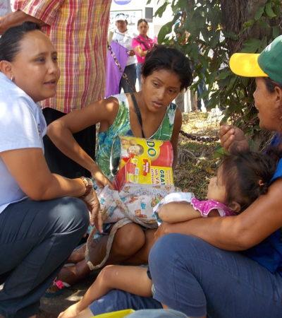 El gobierno nunca debe perder contacto con la gente: Cristina Torres