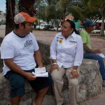 Trabajará Cristina Torres para reducir índices de suicidios y violencia en Solidaridad