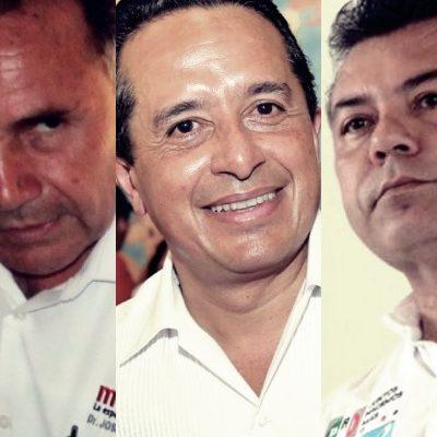 DEBATE 2016 | CINCO CANDIDATOS SE VEN LA CARA: Con limitaciones y dudas, se realiza el único encuentro entre candidatos a la gubernatura de QR