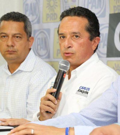 """Rompeolas: """"De chile, de dulce y de manteca"""", así viene la primera lista de Carlos Joaquín"""