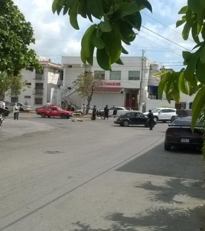 OTRA EJECUCIÓN EN CANCÚN: En plena Avenida del Sol, sicario dispara contra un hombre y huye; van 16 casos en 2016
