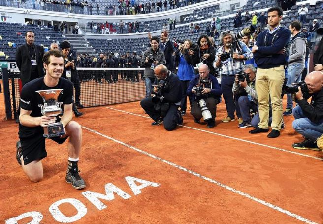 ANDY MURRAY TUMBA A DJOKOVIC: Por primera vez, el tenista británico gana el Master 1000 de Roma