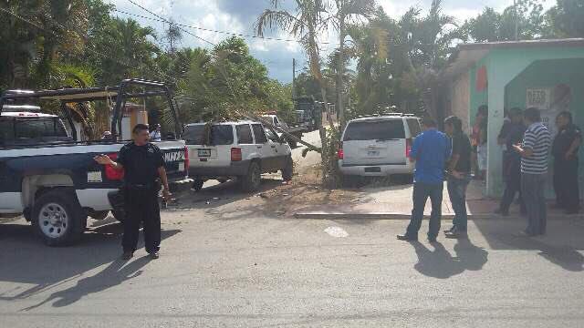 CHOCA CAMIONETA DE FELIPE CALDERÓN EN KANTUNILKÍN: Ex presidente, implicado en accidente cuando se dirigía a cierre de campaña de Carlos Joaquín