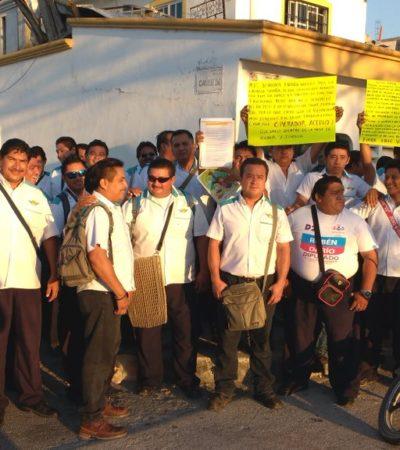 NUEVO PARO DE LABORES EN TURICÚN: Alrededor de 80 trabajadores protestan por incumplimiento de acuerdo para el pago de utilidades en Cancún