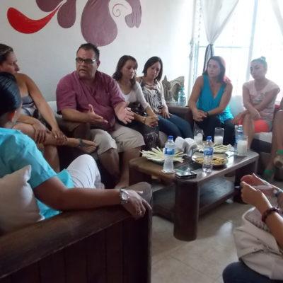 Se reúne Cristina Torres con promotores culturales de Solidaridad y propone abrir espacios para todos