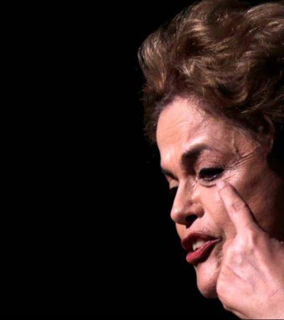 SISMO POLÍTICO EN BRASIL: Dilma Rousseff disuelve su gobierno tras ser separada de la Presidencia por el Senado
