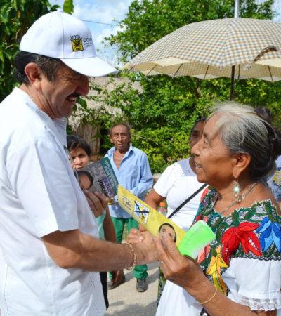 Se pronuncia Domingo Flota por una mejor atención a los ancianos