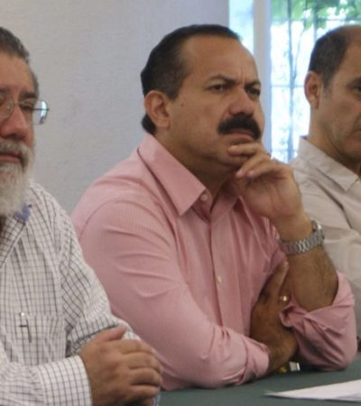 SEGURIDAD Y PROTECCIÓN CIVIL EN PLAZA PÚBLICAS: Explica Julián Ricalde estrategia para recuperar la tranquilidad en Cancún