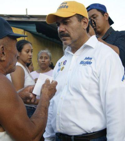 """""""ESTOY PREPARADO PARA RECIBIR LA ADMINISTRACIÓN MUNICIPAL"""": Dice Julián Ricalde que de encontrar irregularidades, denunciará a los responsables"""