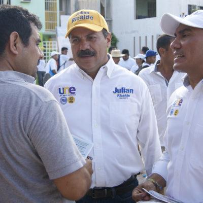 """""""CON 40 PATRULLAS Y 200 POLICÍAS NO SE PUEDE"""": Asegura Julián Ricalde que utilizará todos los recursos para recuperar la seguridad en Benito Juárez"""